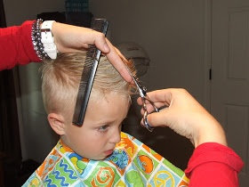 How To Cut Boys Hair The Professional way (Step by step tutorial for a standard cut & a faux hawk! – I think I can do