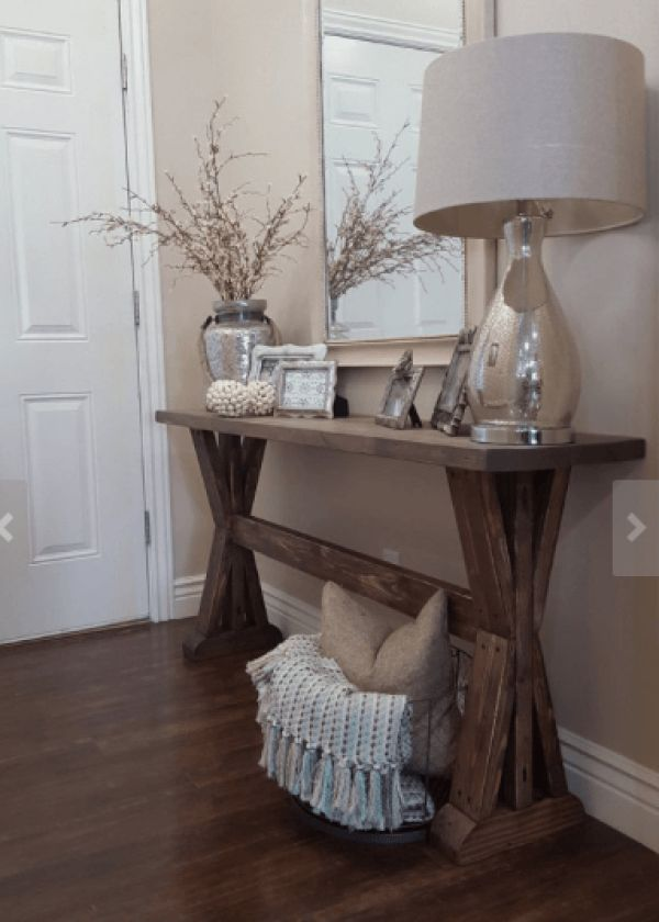 Styling your Entryway – console table