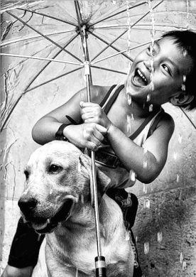 crianças e animais dão excelentes fotografias! para fotografar crianças, deixe as à vontade para que suas expressões sejam mais espontâneas.