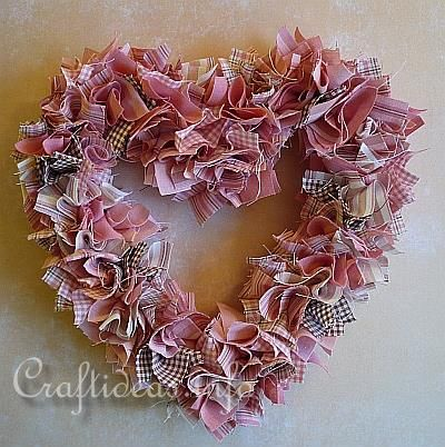 17 Best Ideas About Fabric Wreath On Pinterest Rag