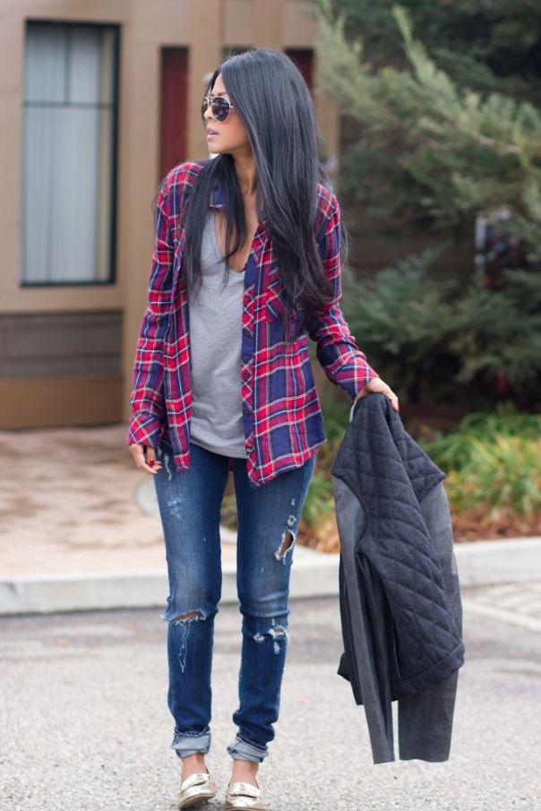 Rails shirt, Goldsign jeans, Shoemint shoes: