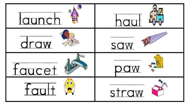 First grade fabulous fish phonics awau education