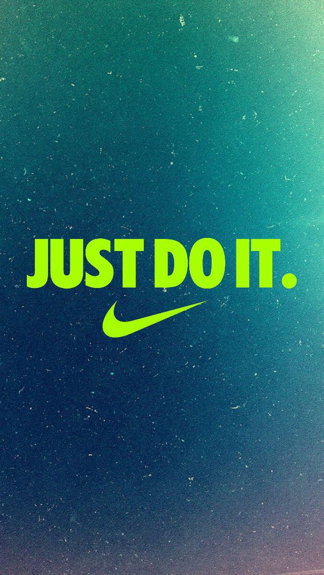 Just Do It iPhone5 Wallpaper (640x1136) iPhone