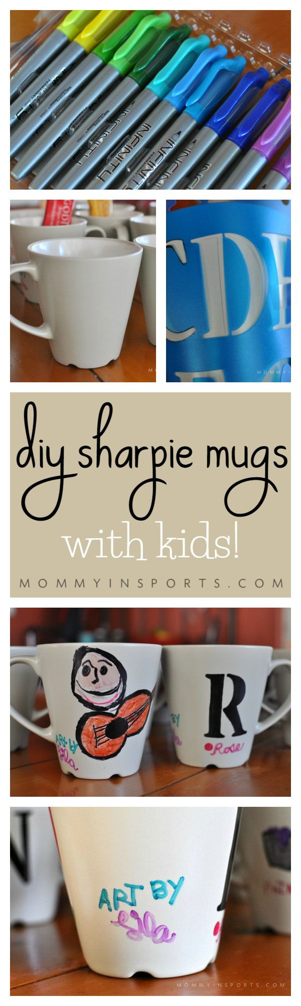 DIY Sharpie Mugs With Kids Crafts Christmas Gift Ideas