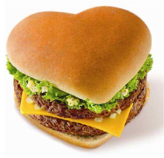 I Had To Have This Heart Hamburger I Love Hamburgers