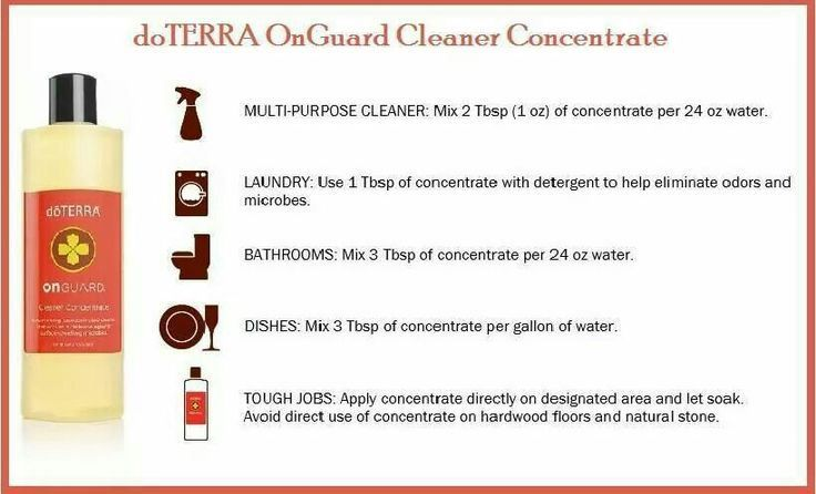 Clean your house without toxins and cheaper onguard