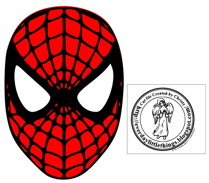 Every Day Little Things!!!!!! Spiderman Head SVG MTC