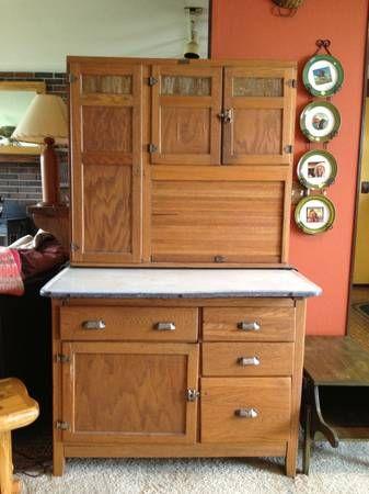 Antique Wilson Hoosier Cabinet Craigslist For 475 Kitchen AntiquesPantry Subs