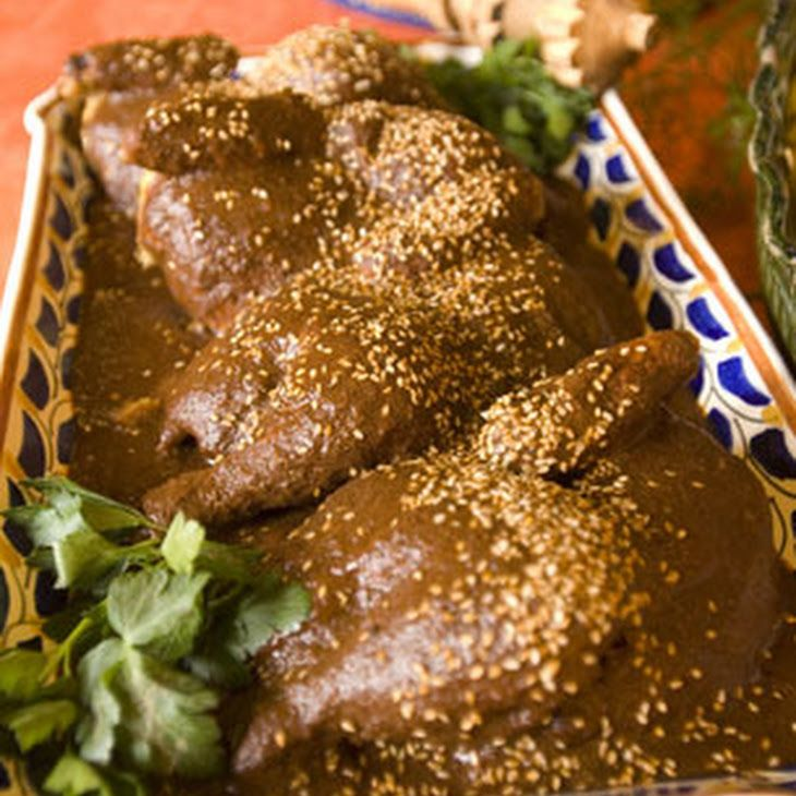 Image result for chicken with mulato sauce