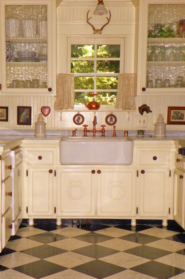 Vintage Kitchen Sink Cottage Farmhouse Kitchens