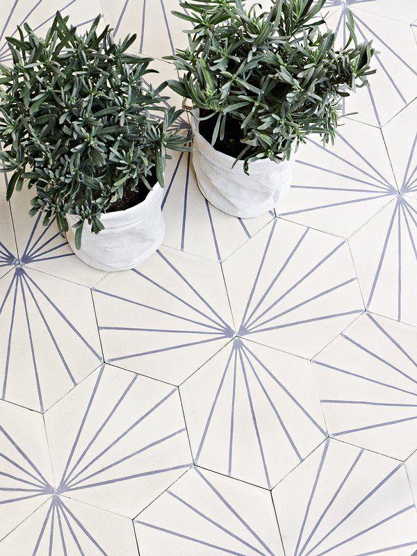 Modern Takes on Moroccan Tile : Remodelista Claesson Koivisto Rune - Dandelion in milk + lavender:
