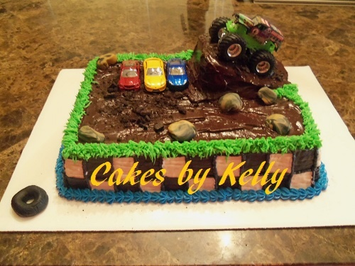 Https Www Facebook Com Kellyscakesdugger Monster Truck