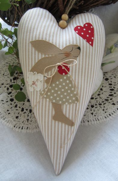 2460 Best Images About Fabric Hearts On Pinterest Felt