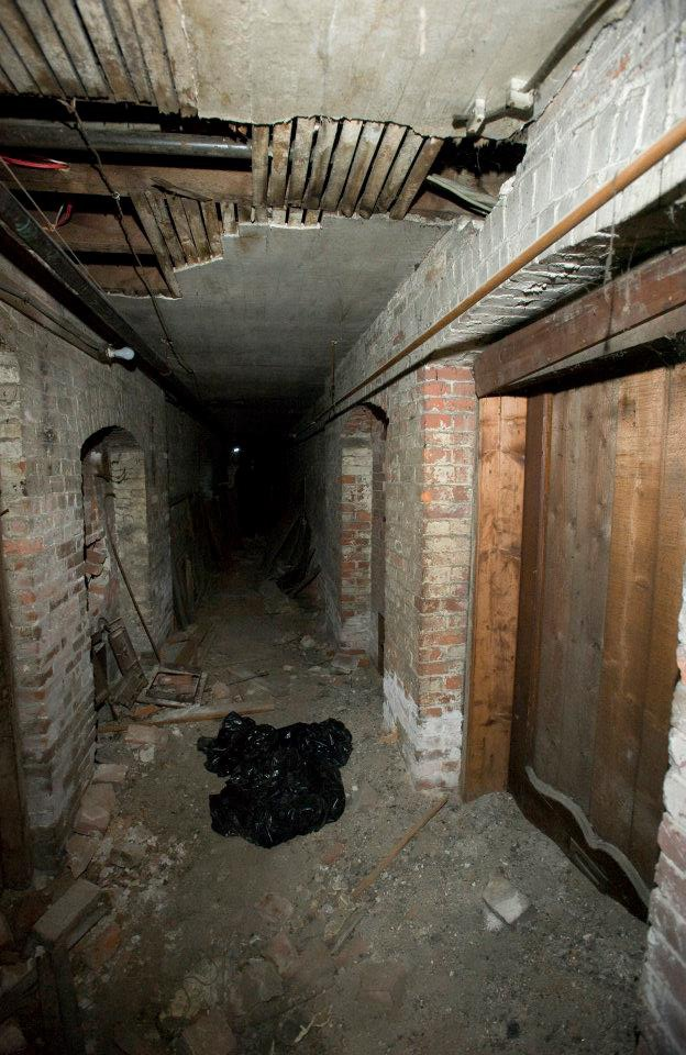 The Tunnel Under The Downing Block Used To Access The Smuggling Tunnels In Salem Ma Come To