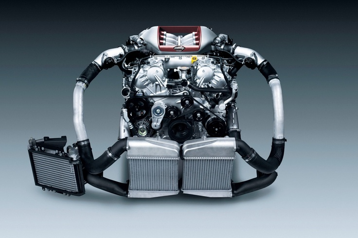 Nissan GT R 545 Hp Twin Turbo V6 GTR Engine Motor