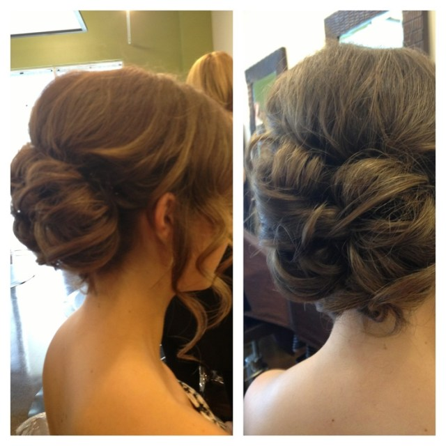Prom  updo  Elegant bun Formal  hairstyles  Pinterest