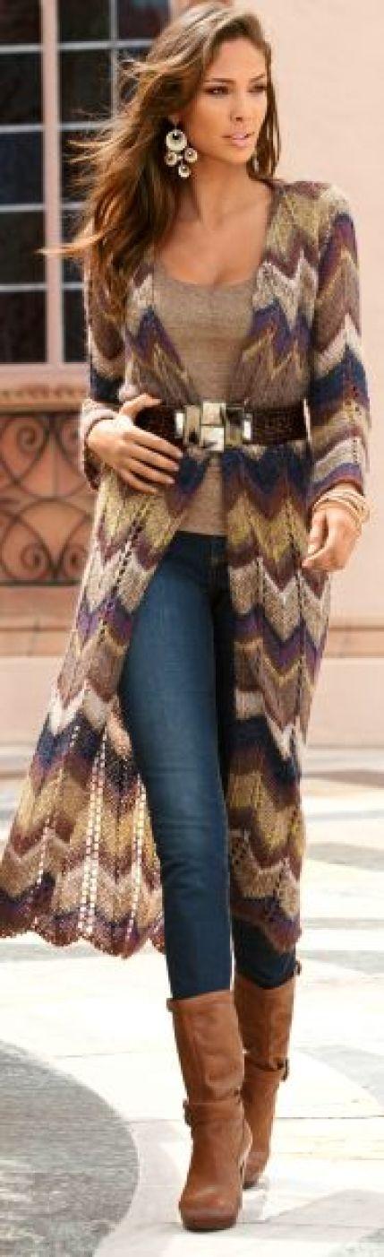 Sweater coat: