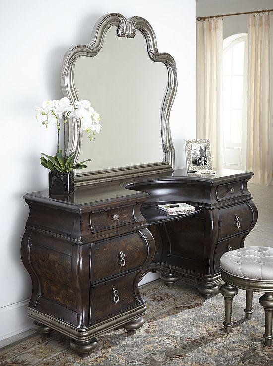 Bedrooms Angelina Vanity Bedrooms Havertys Furniture