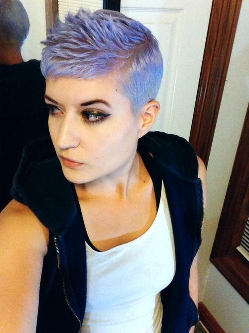 1000 Ideas About Short Purple Hair On Pinterest Purple