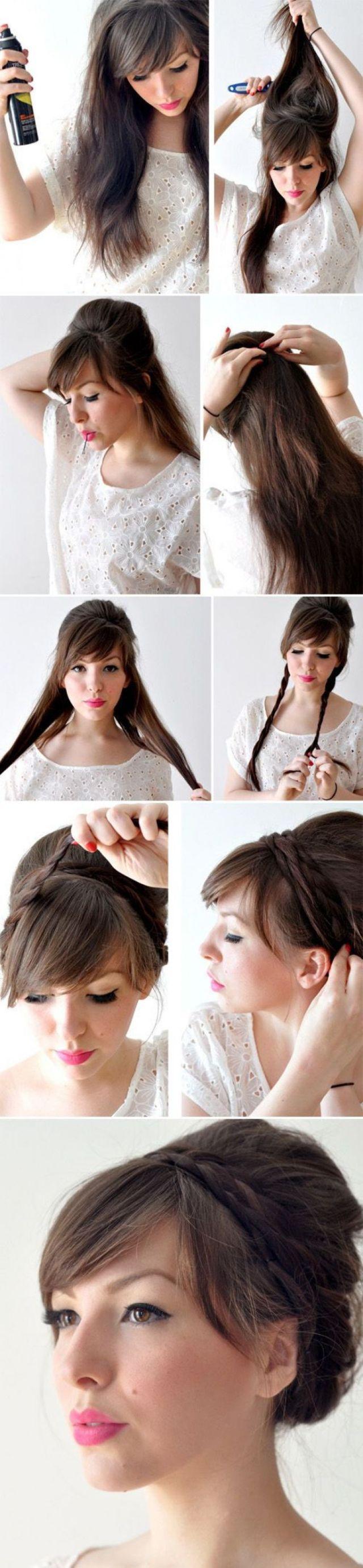 Best 20 Side fringe hairstyles  ideas on Pinterest