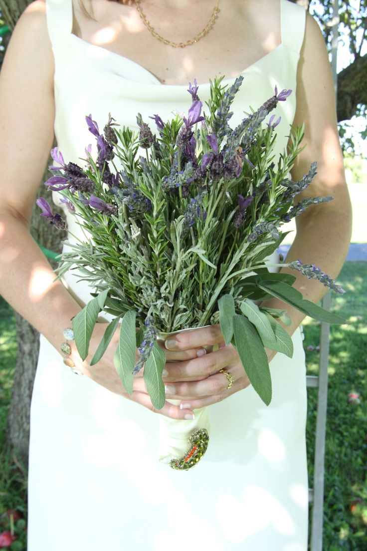 Bouquet Rosemary Sage Amp Lavender Ideas For Sarah