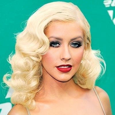 old hollywood wave christina aguilera make up and hair pinterest christina aguilera and