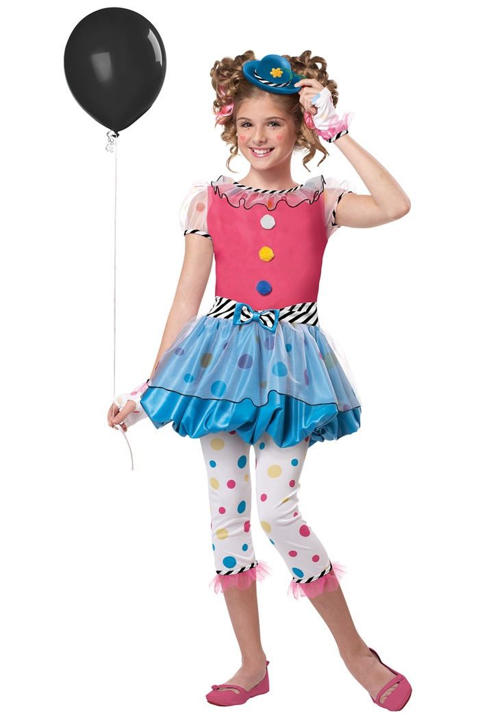 seussical for cecelia Dotsy Clown Costume Sewing