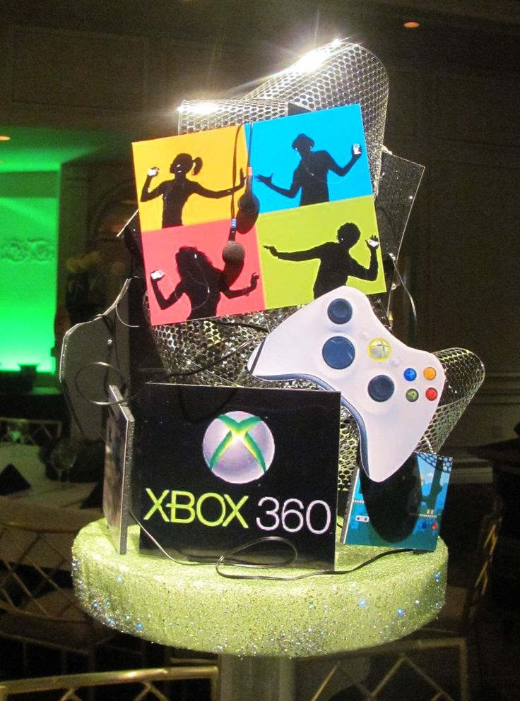 Centerpieces Xbox Birthday Party Ideas