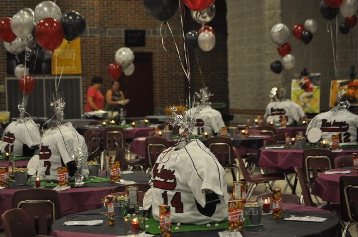 High School Banquet Basketball banquet Pinterest