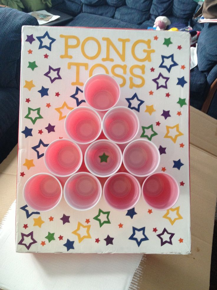 Easy Carnival Games Church Ping pong toss carnival game