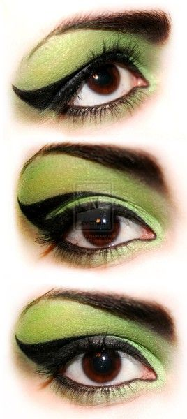 witch Eyes Awesome witch makeup kaitlin_pruett