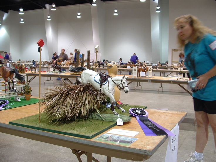 Traditional Model Horse Sized Cross Country Jump Http