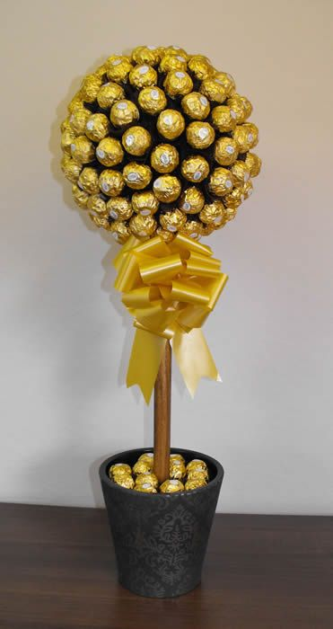 Ferrero Rocher Chocolate Tree And Tree Centerpieces On Pinterest