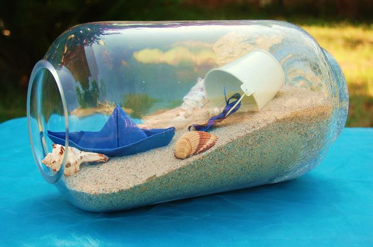 Centrotavola Tema Mare Di Vetro SEA WEDDING MATRIMONIO