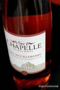 Ste Chapelle Huckleberry Wine Need To Find This One