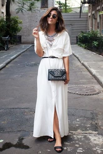 All-white street style looks to copy immediately - click to see them all
