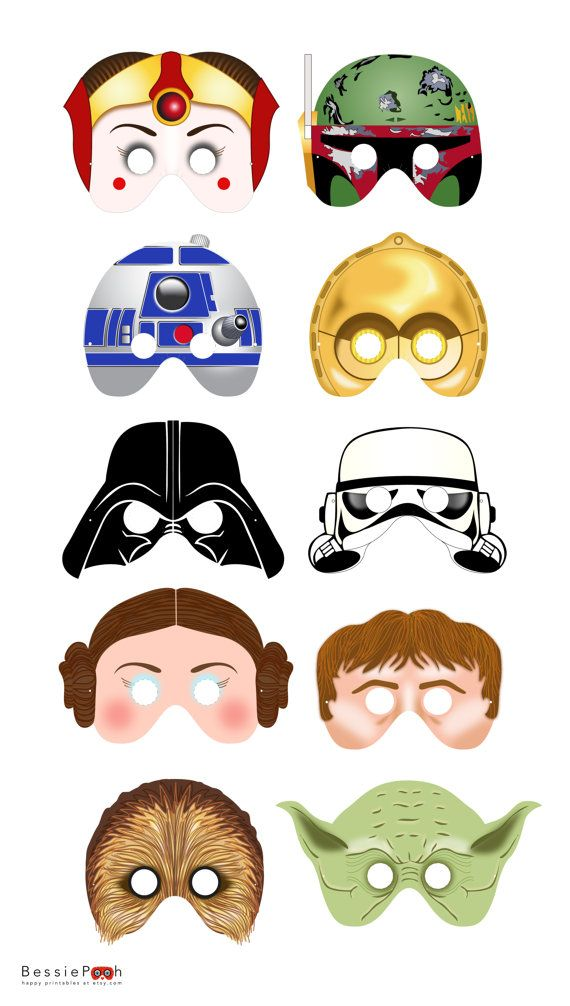 Masques Star Wars