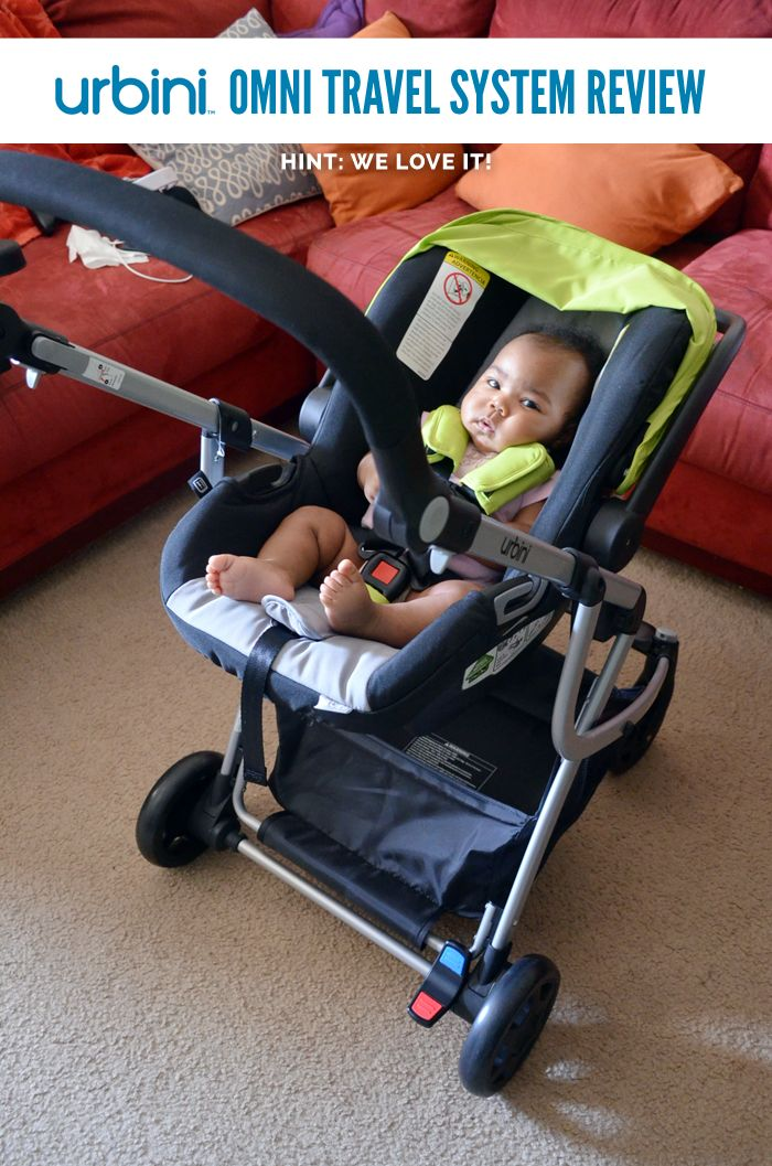 Review Loving the Urbini Omni Baby Travel System Le