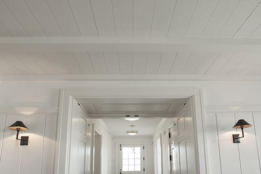 Vertical White Wood Paneling White Wood Paneling On