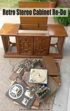 1000 Ideas About Stereo Cabinet On Pinterest Record