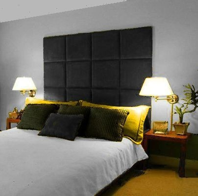 Details About MONACO WALL PANEL LARGE TALL HEADBOARD