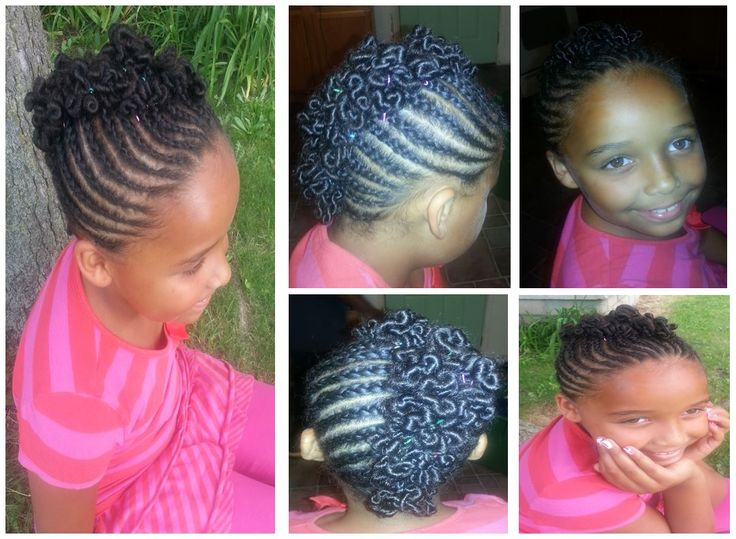 Mohawk With Coils Very Cute Style I Did On My Little