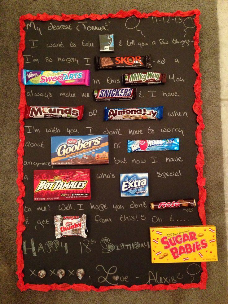 Cute birthday card for the boyfriend! Gift Ideas