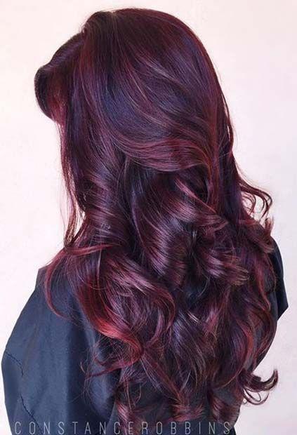 21 Amazing Dark  Red Hair  Color  Ideas  Dark  red hair