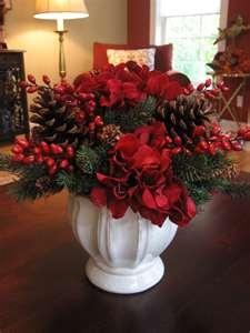 95 Best Images About Christmas Silk Flower Arrangements On