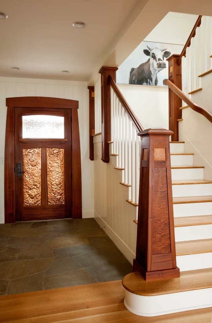 25 Best Images About Craftsman Mission Style Railings On   Craftsman Style Stair Railing