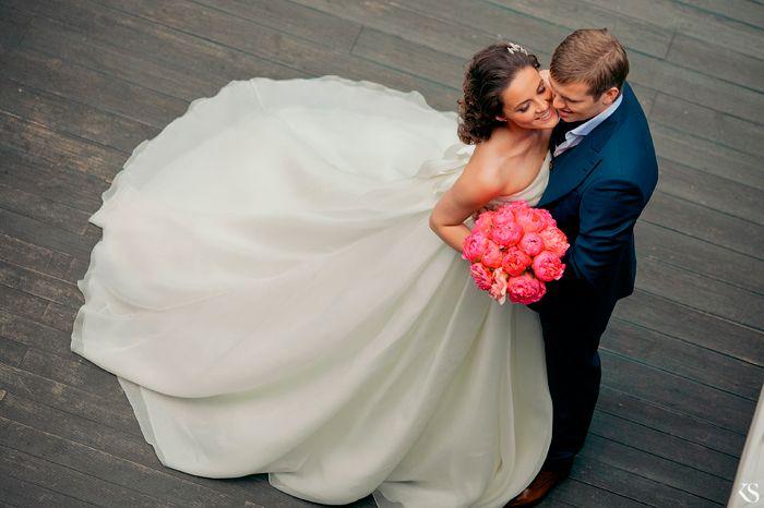 1000+ Ideas About Wedding Dress Bustle On Pinterest