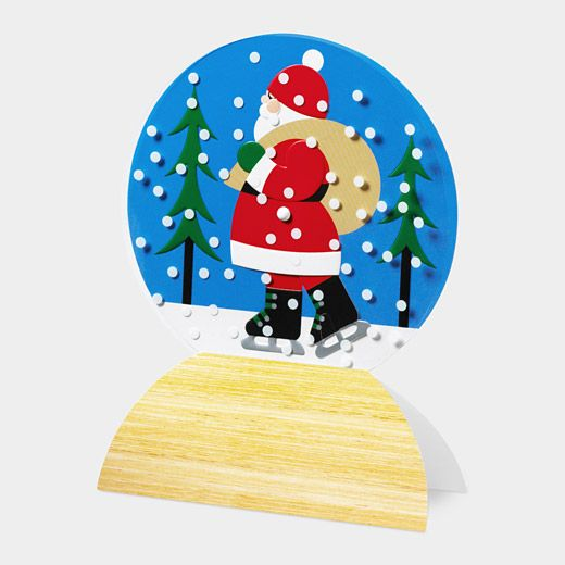1000 Images About Cards Snowglobes On Pinterest