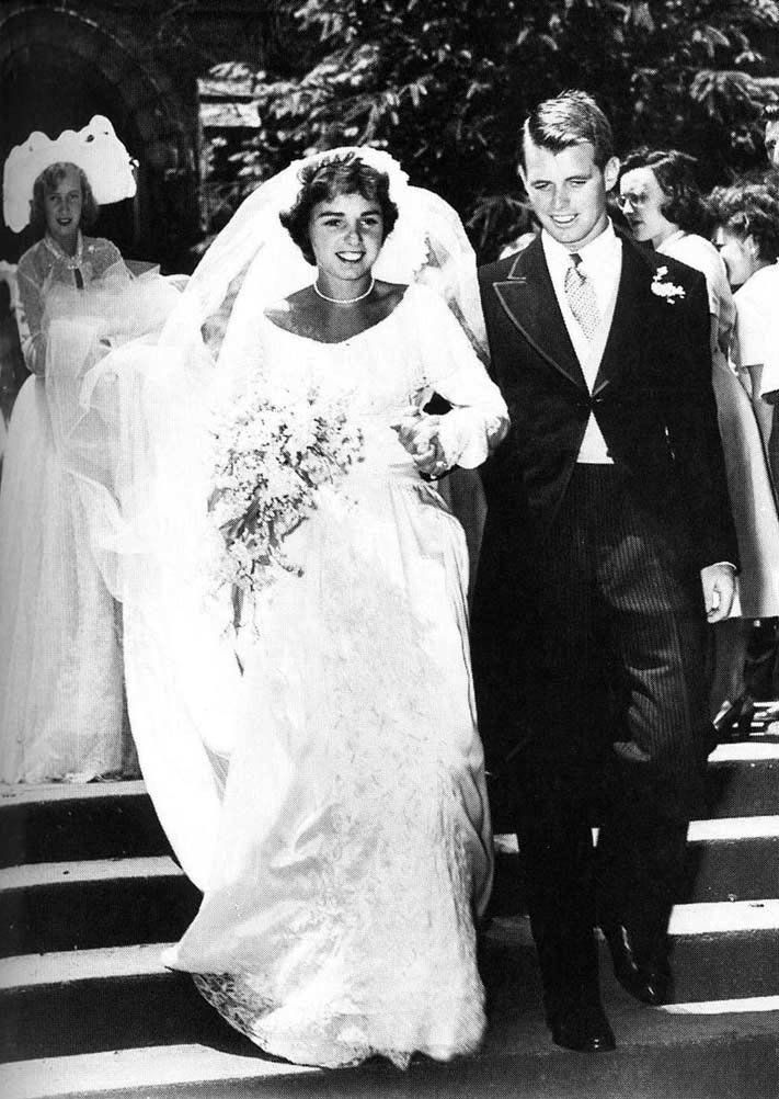 On June 17, 1950, Robert Kennedy married Ethel Skakel of