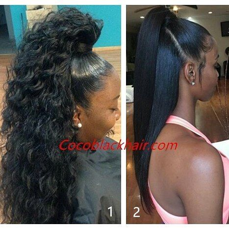 25 best ideas about black ponytail hairstyles on pinterest weave ponytail black hair weave